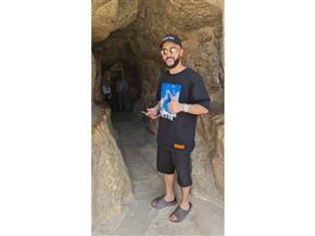 المدون الروسي جوسن جاسانوف يروج لمصر من الأهرامات والمتحف المصري