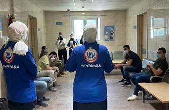 محافظ كفر الشيخ يشيد بتوعية فريق التواصل المجتمعي للمواطنين | صور