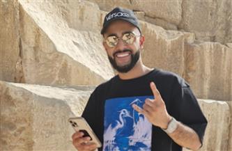 المتحف المصري بالتحرير يستقبل المدون الروسي جوسن جاسانوف