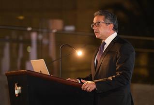 ماذا قال وزير السياحة والآُثار عن المشروعات القومية باجتماع الغرفة الأمريكية؟|صور