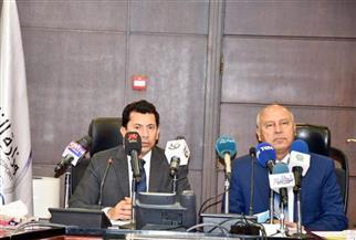 وزيرا النقل والشباب يناقشان استعدادات إقامة بطولة Iron Man الدولية