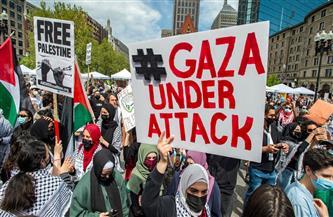 """نهاد عوض لـ""""بوابة الأهرام"""": على إدارة بايدن أن تحترم القانون الأمريكي وتنهي سياستها العمياء تجاه إسرائيل"""
