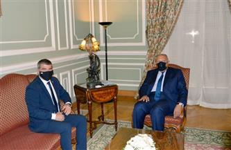 وزيرا خارجية مصر وإسرائيل يبحثان سبل تسهيل إعادة إعمار قطاع غزة بشكل عاجل