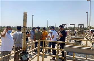 """""""مياه القناة"""" تنظم زيارات لطلاب الجامعات المختلفة"""