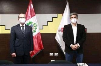 وزير الثقافة البيروفي يرحب باستعداد مصر للمشاركة في احتفالات البيرو بالمئوية الثانية لاستقلالها | صور