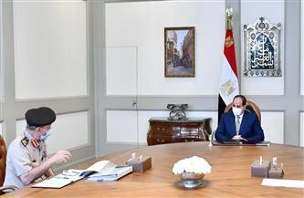 تفاصيل متابعة الرئيس السيسي لمشروعات جهاز الخدمة الوطنية