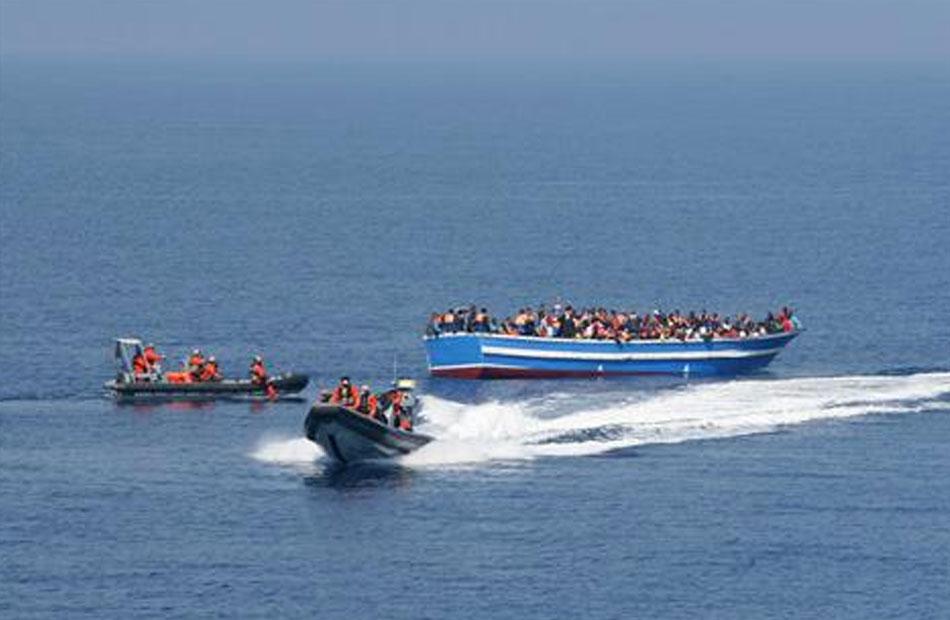 إحباط تهريب بضائع ومخدرات و محاولات هجرة غير شرعية بالمنافذ الجمركية