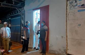تحرير 30 محضرًا للمخالفين لقرارات الغلق في كفرالشيخ