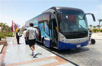 منتخب اليد يغادر إلى القاهرة بعد نهاية معسكره التدريبي بالغردقة | صور