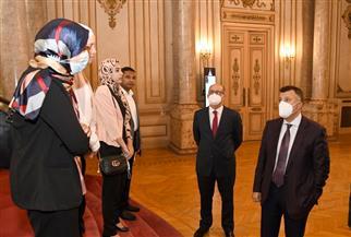 رئيس جامعة عين شمس يلتقي الباحثين الحاصلين على منحة التضامن الاجتماعي |صور