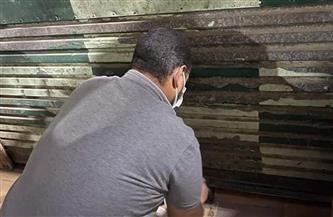 تشميع 3 منشآت تجارية بحي العامرية ثان خالف أصحابها إجراءات مواجهة كورونا