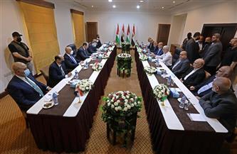 رئيس المخابرات العامة يبحث مع قيادات حماس تثبيت وقف إطلاق النار وإعادة إعمار غزة