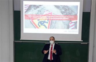 محاضرة حول تعزيز ثقافة المنافسة في المجتمع الأكاديمي   صور