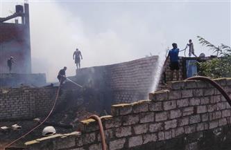 محافظ الغربية يتابع حريق شونة مصنع كتان سمنود.. ويؤكد: جار أعمال التبريد | صور
