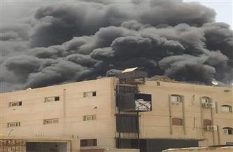 """السيطرة على حريق بمصنع """"فوم"""" بالعاشر من رمضان"""