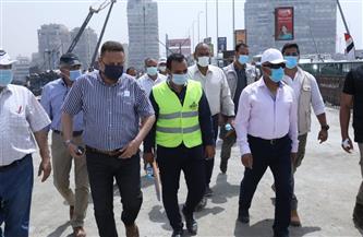 وزير النقل يتابع معدلات تطوير الطريق الدائري حول القاهرة الكبرى | صور
