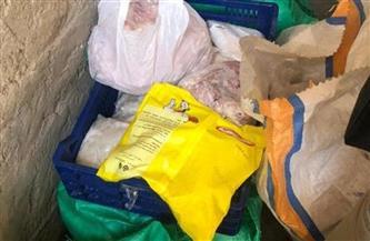 ضبط 210 كيلو دجاج ولحوم وأسماك فاسدة بالشرقية | صور