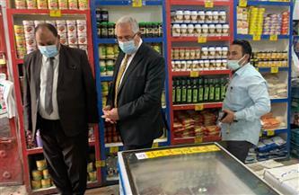 وزير الزراعة يقوم بجولة مفاجئة لمنافذ الوزارة بالدقي | صور