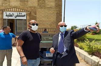 وكيل الصحة بالشرقية يتفقد مركز تطعيم المواطنين ضد كورونا بشركة وادي النيل |صور