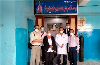 وكيلة الصحة بسوهاج تتفقد التجهيزات النهائية لقسم الغسيل الكلوي بالمستشفى العام | صور
