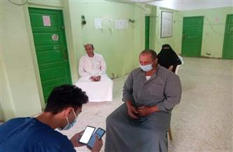 محافظ كفر الشيخ فتح 150 مركزاً للشباب لاستقبال المواطنين للتسجيل لتلقي لقاح كورونا | صور