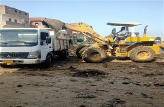 رفع 2024 طن مخلفات وحملات نظافة مكثفة بالمراكز والمدن بكفر الشيخ | صور