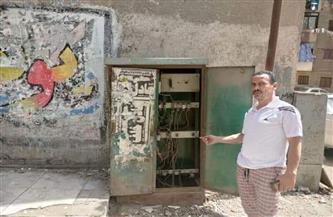 «مستقبل وطن» إمبابة يستجيب لاستغاثة الأهالي بوجود صندوق كهرباء مفتوح | صور