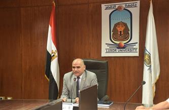رئيس جامعة الأقصر: لم نرصد أي مشكلات في امتحانات اليوم
