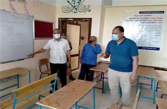 رئيس مركز الطود بالأقصر يعلن الانتهاء من مدرسة نجع أبو الحمد أول يوليو