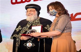 وزيرة الهجرة تشارك في احتفالية الكاتدرائية بمسار العائلة المقدسة إلى مصر | صور