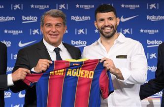 أجويرو يثق ببقاء ميسي ويمني النفس باللعب معه عقب تعاقده مع برشلونة
