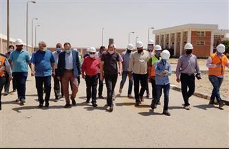 رئيس جهاز بني سويف الجديدة والنائب الأول لرئيس المقاولون العرب يتفقدان مشروعات المرافق الجاري تنفيذها |صور