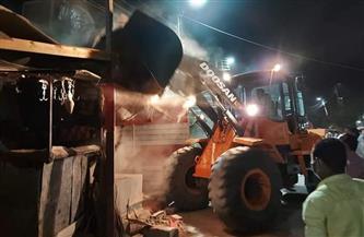 تنفيذ 21 إزالة إدارية في حملة على الشوارع الرئيسية جنوب الأقصر