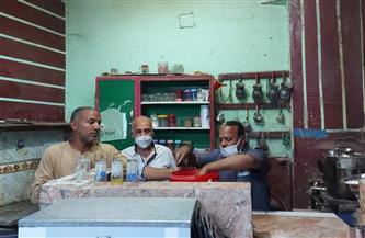 حملة تموينية مكبرة بمدينة الطود في الأقصر | صور