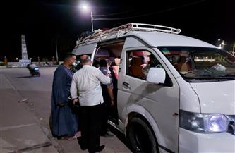 تحرير 6 محاضر عدم ارتداء الكمامة بمدينة الطود في الأقصر