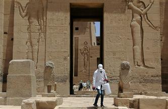 استمرار أعمال التطهير يوميًا في كافة المتاحف والمواقع الأثرية | صور