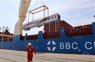 وصول 52 عربة سكة حديد جديدة إلى ميناء الإسكندرية | صور