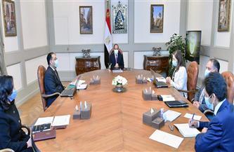 الرئيس السيسي يطلع على جهود الحكومة في دعم إطلاق تقرير التنمية البشرية في مصر