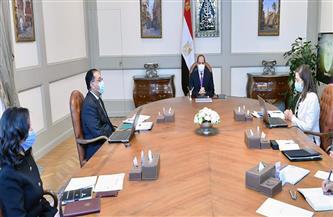 الرئيس السيسي يوجه الحكومة بالتوثيق الدقيق لجهود الدولة التي شملت جميع القطاعات على مستوى الجمهورية