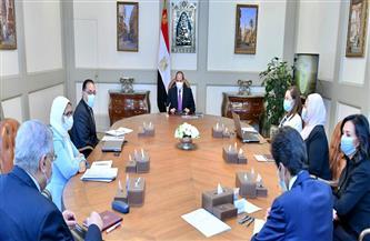 الرئيس السيسي: التوازن بين معدلات النمو السكاني والاقتصادي هو الهدف الأساسي من المشروع القومي لتنمية الأسرة