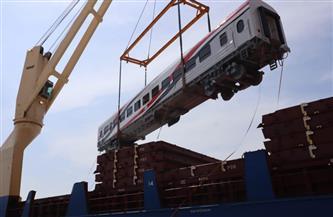 بالتفاصيل.. وصول دفعة جديدة من عربات ركاب السكك الحديد الجديدة لميناء الإسكندرية | صور