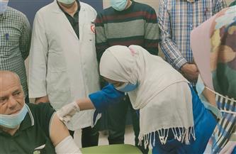 تطعيم مرضى الفشل الكلوي والأمراض المزمنة بدمياط للوقاية من فيرس كورونا| صور