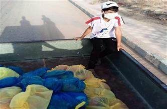 أمانة «مستقبل وطن» بمطروح توزع شنطا وكراتين غذائية على المواطنين | صور