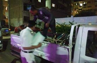 حملة ليلية على مقاهي حي الخليفة لمتابعة تطبيق الإجراءات الاحترازية