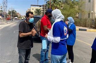 فرق توعية بالإجراءات الاحترازية تقدم نصائح للمواطنين والسائحين في البحر الأحمر  صور