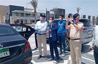 السفيرالألماني بالقاهرة يتفقد مشروعات مدينة العلمين الجديدة |صور