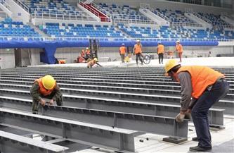 """الصين حولت """"المكعب المائي"""" إلى """"المكعب الجليدي"""" لاستضافة الأوليمبياد الشتوية والباراليمبياد الشتوية في بكين"""