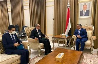 سفير مصر باليمن يؤكد المساندة لتسوية الأزمة اليمنية على نحو يُنهي معاناة الشعب