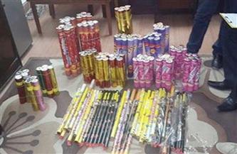 ضبط أكثر من 2000 قطعة ألعاب نارية محظور تداولها بالإسكندرية