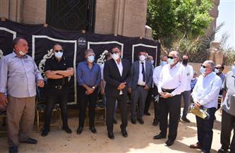 مجلس إدارة الأهلي يشارك في تشييع جثمان أمين الصندوق الأسبق